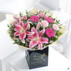 Pink Radiance Hand Tied Bouquet