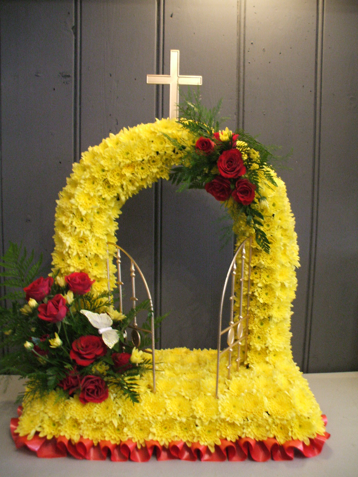 Bespoke funeral tributes stem by stem florist in folkestone bespoke funeral tributes izmirmasajfo Image collections
